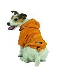 X Large Dog Thermal Hoodie - Gold