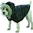 X Large Dog Everest Snow Parka - Black