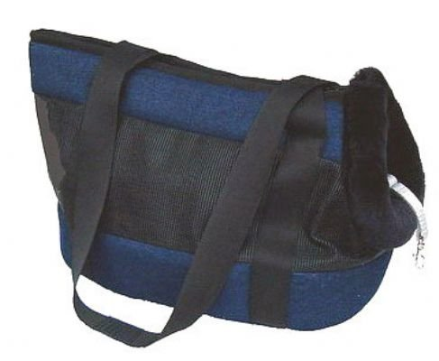 Small Breed Denim Tote Dog Carrier