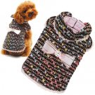 XX Small Dog City Coat - Black
