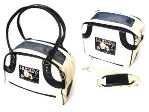 Small Hurry Vintage Americana Dog Carrier