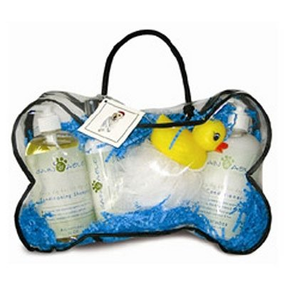 Deluxe Dog Spa Set Peppermint Scents