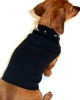 Small Studded Dog Tank Top - Black