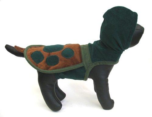 XX Small Turtle Hoodie Dog Costume