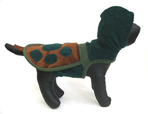 X Small Turtle Hoodie Dog Costume
