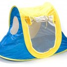 Yellow And Blue Dog Tent