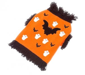 XX Small Halloween Sweater Dog Costume