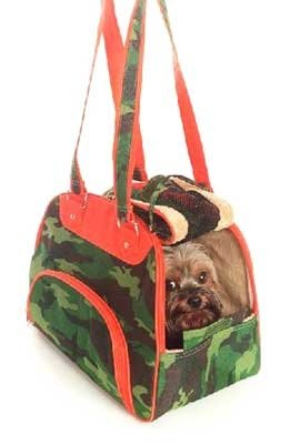 Camouflage Dog Carrier