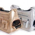 Hollywood Dog Carrier - Silver Metallic