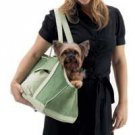 Green Corduroy Dog Carrier