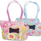 Pink Hawaiian Garden Dog Carrier