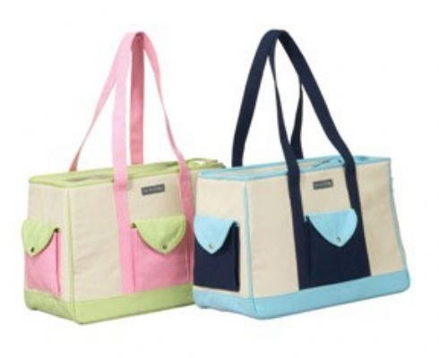 Blue Cape Cod Dog Carrier