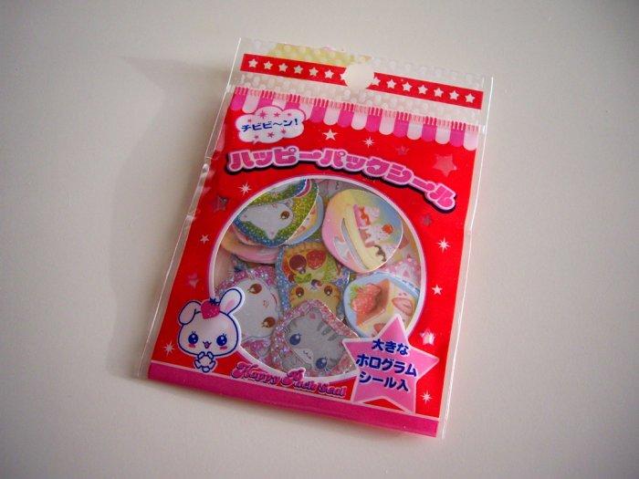 kawaii Lemon Co sweets sticker sack
