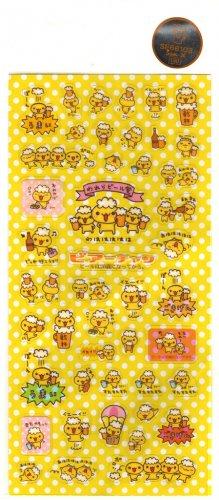 kawaii San-x beer chan sticker sheet