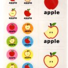 Apple sticker sheet