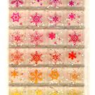 Basel snow flakes tile sticker sheet