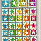 K Company stars tile sticker sheet