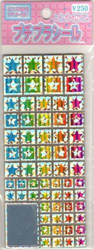 K Company stars tile sticker sheet