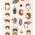 Sunmail Co. hamsters and friend sticker sheet