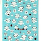 kawaii Mind Wave snow flake panda angels sticker sheet
