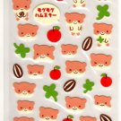 kawaii Point Inc. winking hamsters sticker sheet