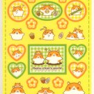 kawaii Crux mogu hamu chan world sticker sheet