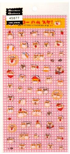 kawaii Kamio Japan ichigo seeds hamsters sticker sheet