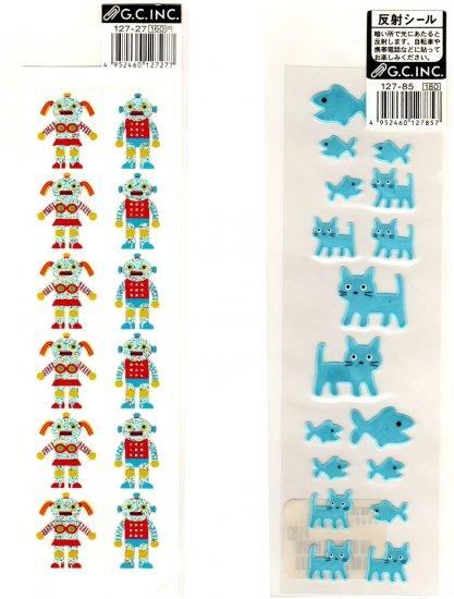 G.C. Inc sticker sheet lot 2 pieces