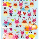 kawaii animal paradise sticker sheet