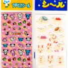 kawaii animals mini sticker lot