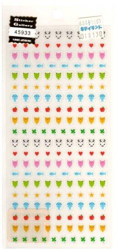 kawaii Kamio Japan mini animals sticker sheet