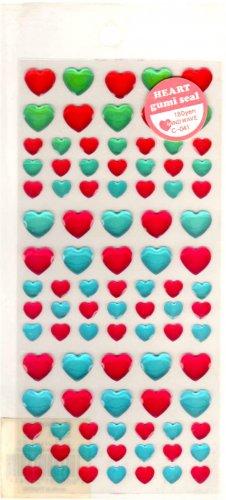 Mind Wave heart gumi seal sticker sheet