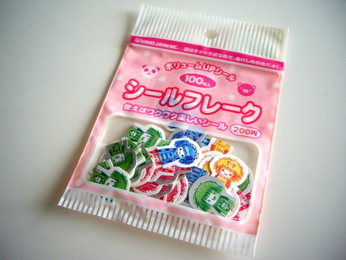 kawaii Kamio Japan girls sticker sack