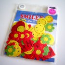 Harvey Ball cute funky a go go smiley sticker sack USED