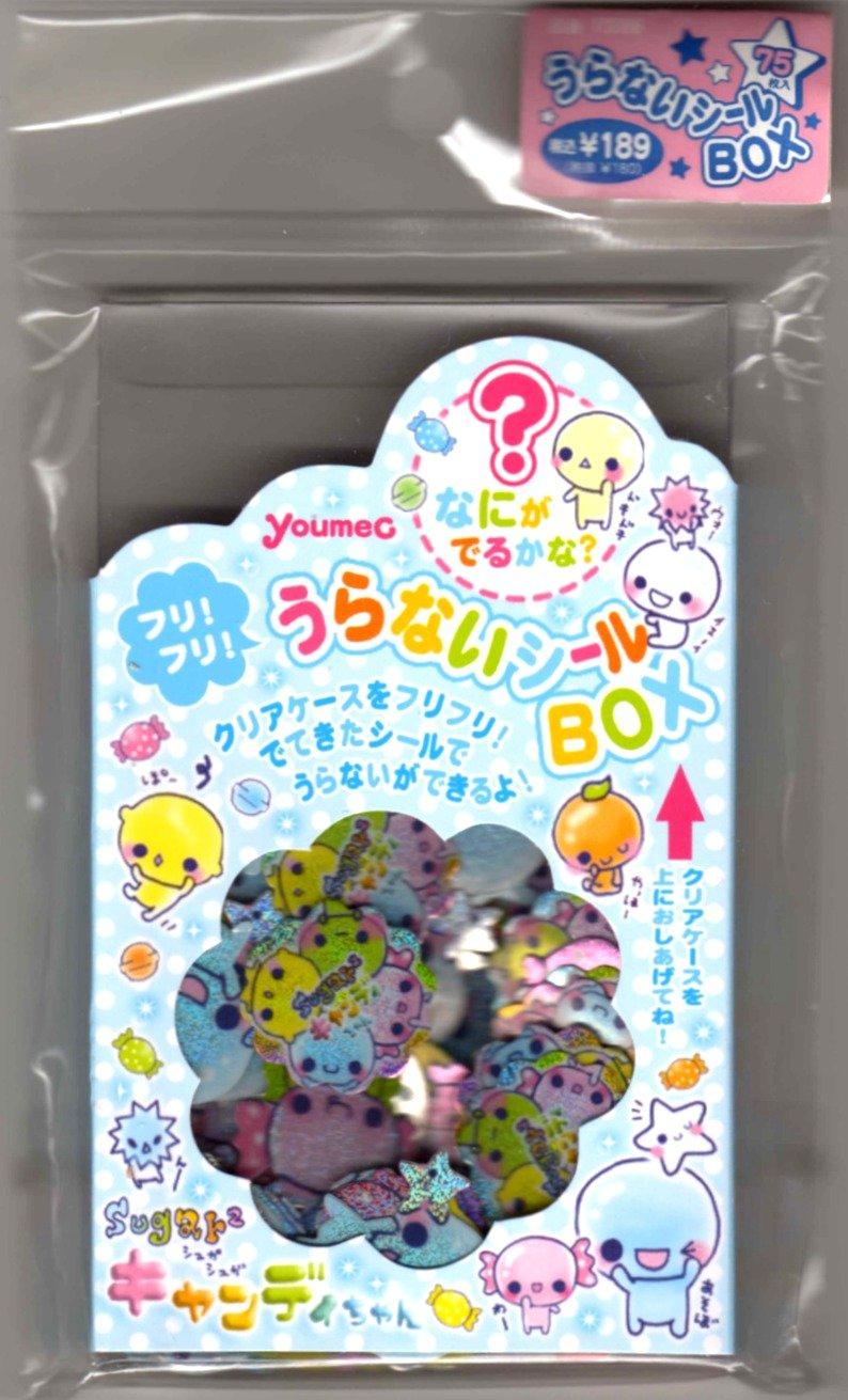 kawaii Youmec candy sticker box USED