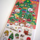 kawaii San-x Afro Ken christmas sticker sheet 2002
