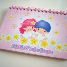 kawaii Sanrio little twin stars note book USED