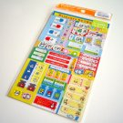 kawaii Kamio Japan pandaron sticker sheet