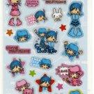 kawaii Q-lia cutie western sticker sheet