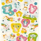 kawaii Kamio Japan sweet sweet world sticker sheet