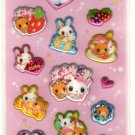 kawaii Kamio Japan sweet lily sticker sheet