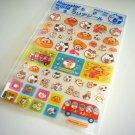 kawaii Point Inc. maruster world marubus hamster sticker sheet DAMAGED