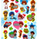 kawaii Kamio Japan love smile sticker sheet