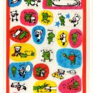 kawaii Kamio panda and frog friendship sticker sheet