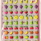 kawaii Pool Cool fruits sticker sheet