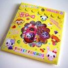 kawaii Q-lia sweet friends sticker sack