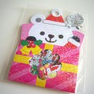 kawaii Mind Wave polar bear christmas present sticker sack
