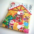 kawaii Mind Wave santa house sticker sack