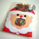 kawaii Mind Wave santa and reindeer sticker sack