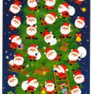 kawaii Mind Wave santa christmas tree sticker sheet